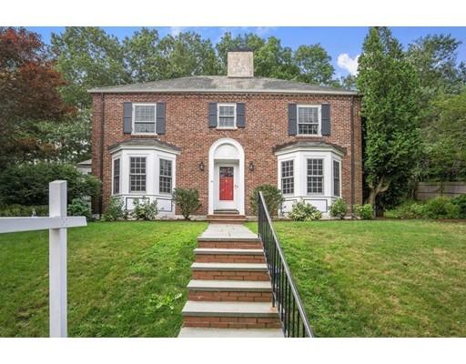 Частный односемейный дом для того Продажа на 42 Fairway Road Brookline, Массачусетс 02467 Соединенные Штаты