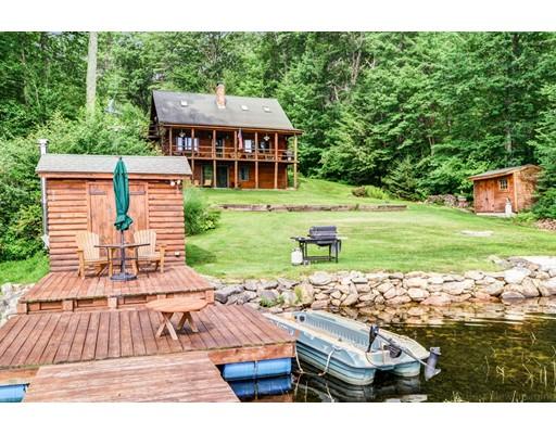 Casa Unifamiliar por un Venta en 16 Comet Pond Hubbardston, Massachusetts 01452 Estados Unidos