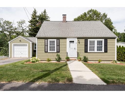 واحد منزل الأسرة للـ Sale في 63 Elliot Street Braintree, Massachusetts 02184 United States