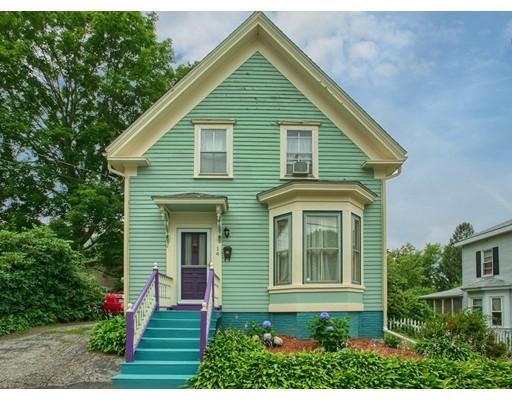 واحد منزل الأسرة للـ Sale في 14 S Lincoln Haverhill, Massachusetts 01835 United States