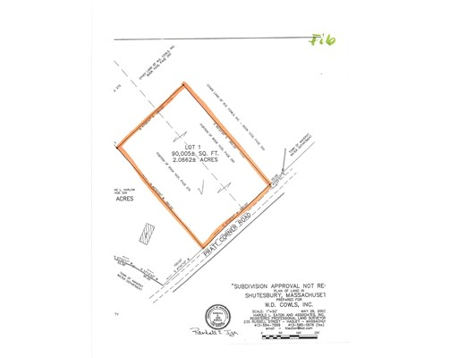 Land for Sale at Pratt Corner Pratt Corner Shutesbury, Massachusetts 01072 United States