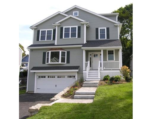 Single Family Home for Sale at 172 Renfrew Street Arlington, Massachusetts 02476 United States