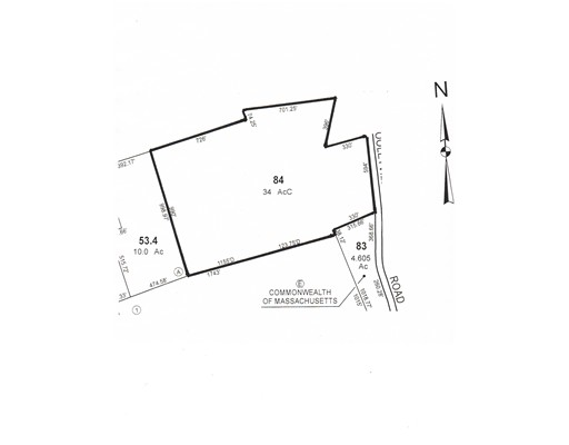 Land for Sale at Cooleyville Road Wendell, Massachusetts 01379 United States