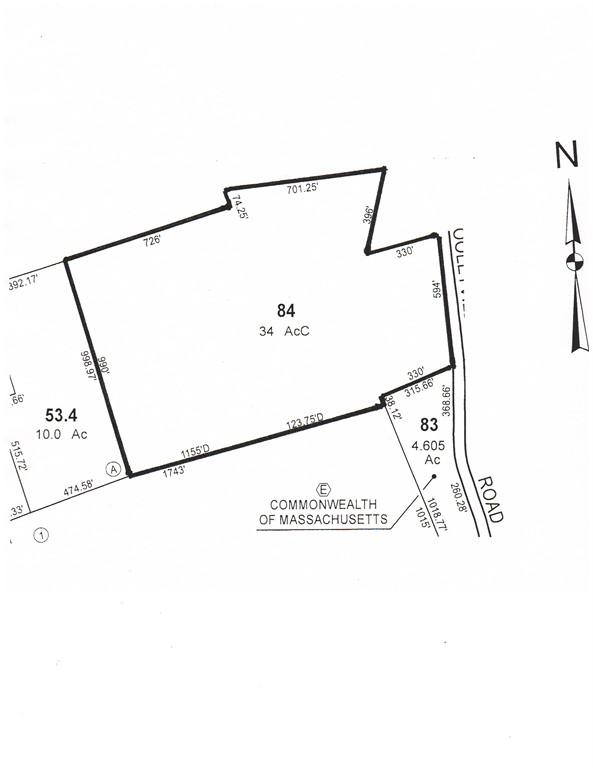 Property for sale at Lot 0 Cooleyville Road, Wendell,  Massachusetts 01379