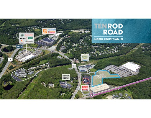 Land for Sale at 1011 Ten Rod Road North Kingstown, Rhode Island 02852 United States