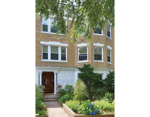 Кондоминиум для того Продажа на 57 Addington Road Brookline, Массачусетс 02445 Соединенные Штаты