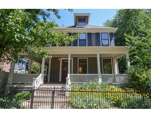 Single Family Home for Rent at 36 Bowdoin Street Cambridge, Massachusetts 02138 United States