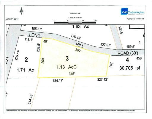 Land for Sale at 3 Long Hill Road 3 Long Hill Road Holland, Massachusetts 01521 United States