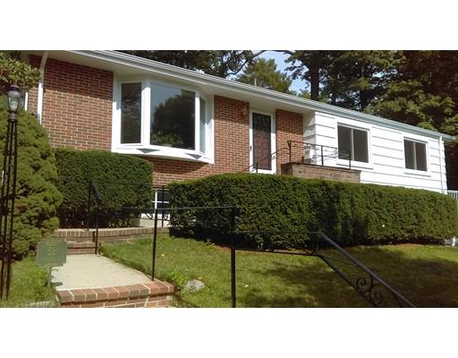 Частный односемейный дом для того Продажа на 56 Oakland Road Brookline, Массачусетс 02445 Соединенные Штаты