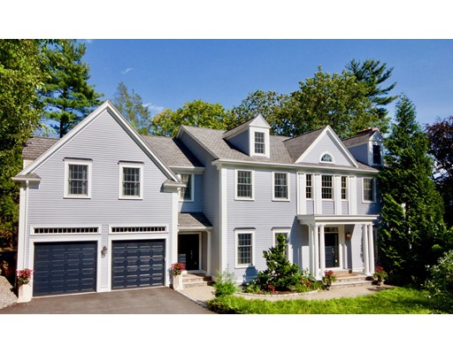 Casa Unifamiliar por un Venta en 3 WOOD LANE Winchester, Massachusetts 01890 Estados Unidos