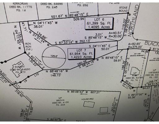 土地 为 销售 在 7 Northland Road 什鲁斯伯里, 01545 美国