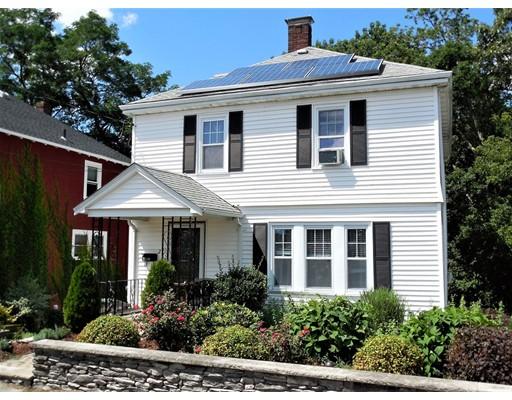 Maison unifamiliale pour l Vente à 21 Commonwealth Avenue Dedham, Massachusetts 02026 États-Unis