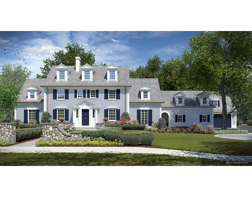 Single Family Home for Sale at 22 Allen Road Wellesley, Massachusetts 02481 United States