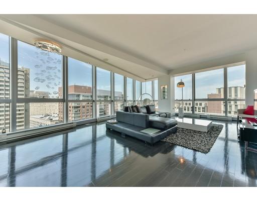 Appartement en copropriété pour l Vente à 110 Streetuart Street Boston, Massachusetts 02116 États-Unis