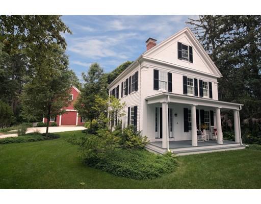واحد منزل الأسرة للـ Sale في 495 Main Street Hingham, Massachusetts 02043 United States