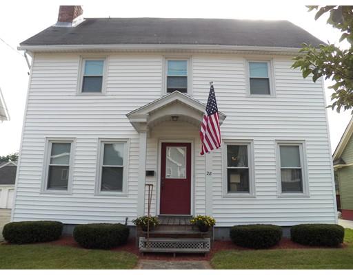 独户住宅 为 销售 在 28 Nelson Street 28 Nelson Street West Springfield, 马萨诸塞州 01089 美国