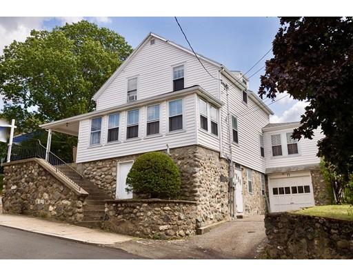 Частный односемейный дом для того Продажа на 30 Lotus Avenue Stoneham, Массачусетс 02180 Соединенные Штаты