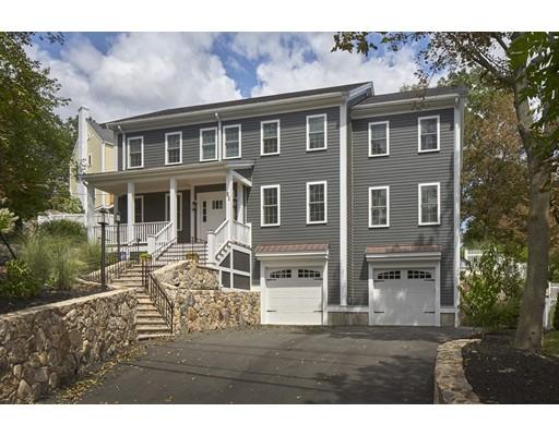 Single Family Home for Sale at 21 Spring Street Arlington, Massachusetts 02476 United States