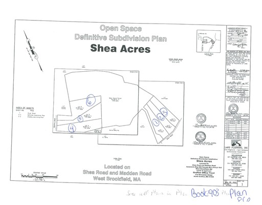 Lot 3 Shea Rd., West Brookfield, MA 01585