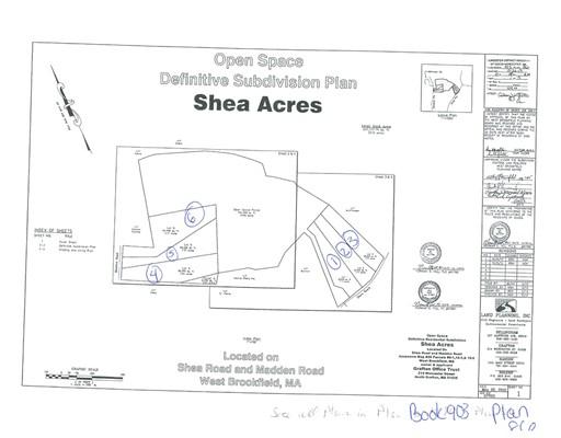 土地 为 销售 在 3 Shea Road West Brookfield, 01585 美国