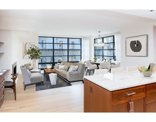 共管式独立产权公寓 为 出租 在 580 Washington Street #608 580 Washington Street #608 波士顿, 马萨诸塞州 02111 美国