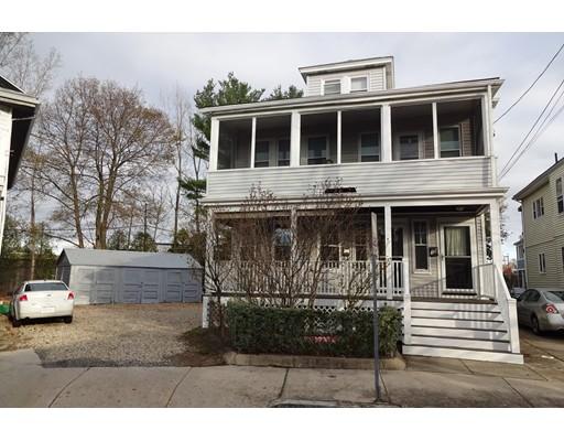Многосемейный дом для того Продажа на 38 Dunbar Avenue 38 Dunbar Avenue Medford, Массачусетс 02155 Соединенные Штаты