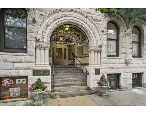 Additional photo for property listing at 4 Charlesgate East 4 Charlesgate East Boston, Massachusetts 02215 États-Unis