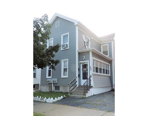 多户住宅 为 销售 在 13 Morris Street 13 Morris Street Springfield, 马萨诸塞州 01105 美国