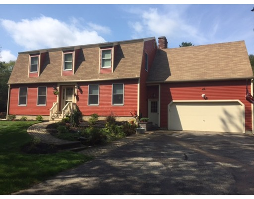 Single Family Home for Sale at 29 Gay Road 29 Gay Road Brookfield, Massachusetts 01506 United States