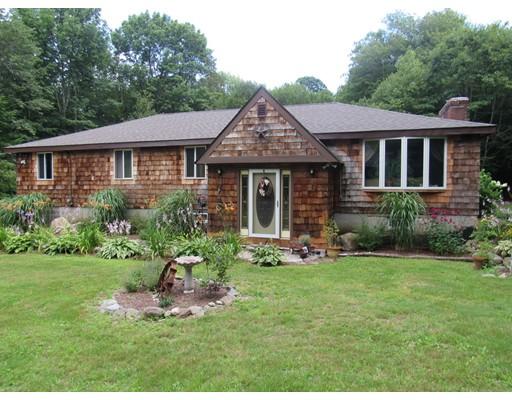 Частный односемейный дом для того Продажа на 27 Searle Road Huntington, Массачусетс 01050 Соединенные Штаты