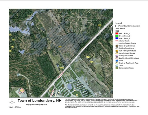 Terreno por un Venta en 296 Nashua Rd (C-640) Londonderry, Nueva Hampshire 03053 Estados Unidos