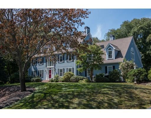 Maison unifamiliale pour l Vente à 7 Justin Road Natick, Massachusetts 01760 États-Unis