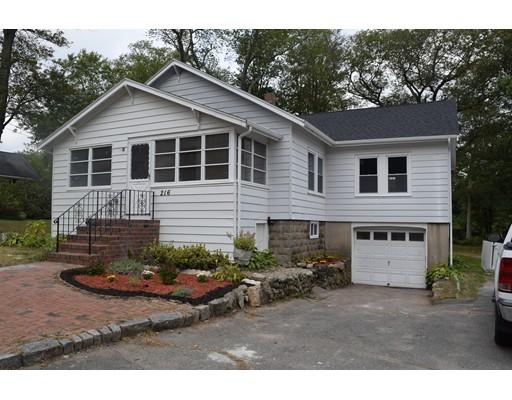独户住宅 为 销售 在 216 Weymouth Street 216 Weymouth Street Holbrook, 马萨诸塞州 02343 美国