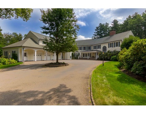 Single Family Home for Sale at 36 Strawberry Hill Street Dover, Massachusetts 02030 United States