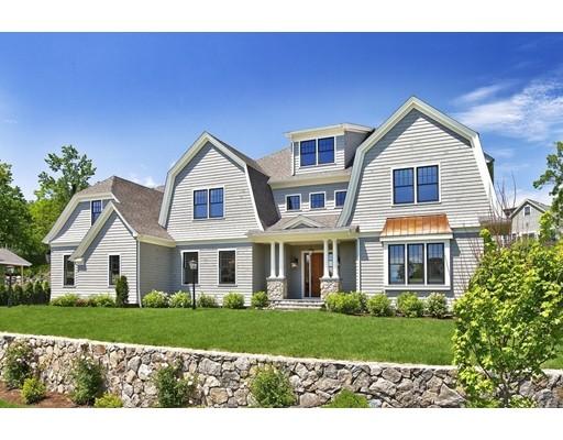 Maison unifamiliale pour l Vente à 4 Aquinas Path Winchester, Massachusetts 01890 États-Unis