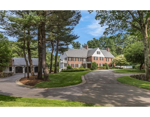 Single Family Home for Sale at 230 Dudley Road 230 Dudley Road Newton, Massachusetts 02459 United States