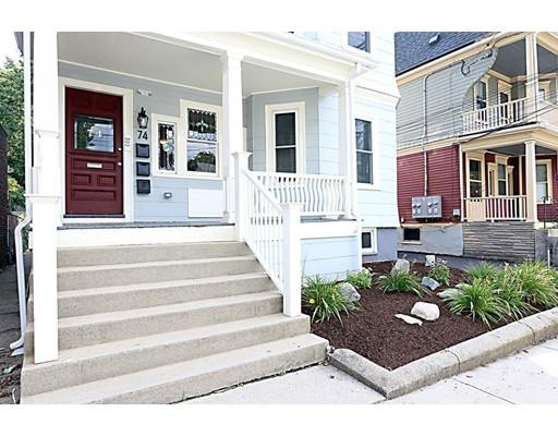Casa Multifamiliar por un Venta en 74 Morrison Avenue Somerville, Massachusetts 02144 Estados Unidos