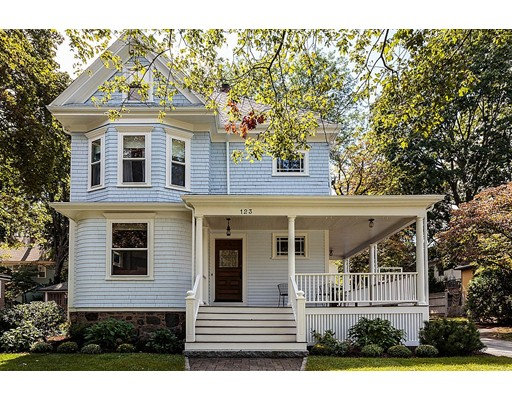 Single Family Home for Sale at 123 School Street 123 School Street Belmont, Massachusetts 02478 United States