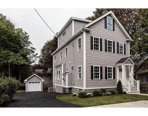 Maison unifamiliale pour l Vente à 171 Wachusett Avenue Arlington, Massachusetts 02476 États-Unis