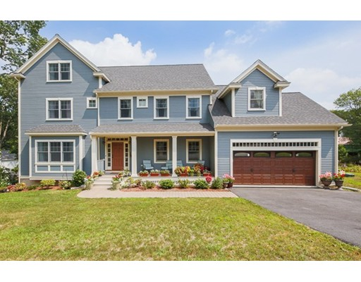 Lovely & luxurious this elusive 5 bedroom, 4.5 bathroom 2015 new construction home is a rare find in the Morningside area of town! Traditional yet very stylish, the main level offers an open concept floor plan. A beautiful foyer will welcome you where spacious rooms abound, all rich in detail including a dining room w/hardwood in-lay & versatile sitting room which seamlessly flows into the fire-placed living room. Dreamy in design, the upscale kitchen is expansive & offers a gorgeous granite island, high end appliances, double oven, kettle faucet + a separate dining area w/glass doors which open to a composite deck & great yard. The upper level offers 4 generous bedrooms, 2 w/en-suite marble baths (including a phenomenal master w/walk-in closet & double vanity), laundry room, add'l bath & open staircase while the top floor features a 5th bedroom + rec room & full bath - perfect for extended stay guests or nanny!  All this + great basement filled w/potential, 2 car garage & 3 zone heat!