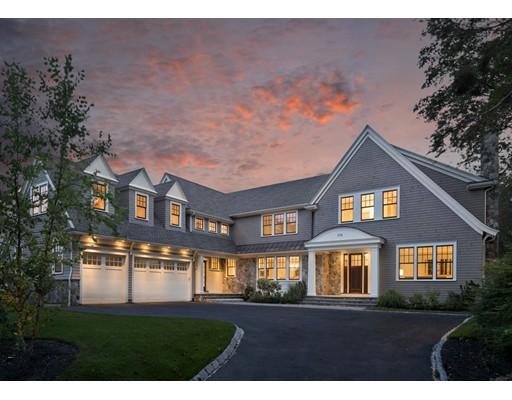 واحد منزل الأسرة للـ Sale في 170 Sargent Newton, Massachusetts 02458 United States