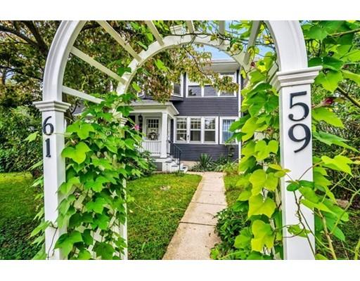 Casa Unifamiliar por un Alquiler en 59 Rowe Street Newton, Massachusetts 02466 Estados Unidos