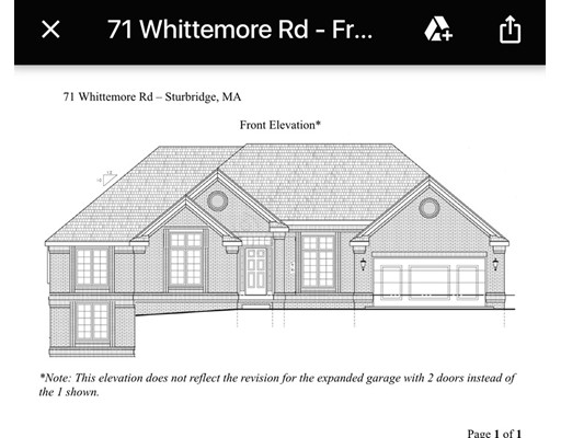 Single Family Home for Sale at 71 Whittemore Road Sturbridge, Massachusetts 01566 United States