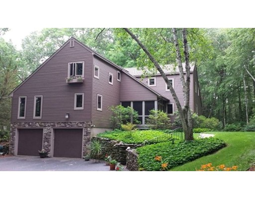 Casa Unifamiliar por un Venta en 73 Bullard Road 73 Bullard Road Princeton, Massachusetts 01541 Estados Unidos