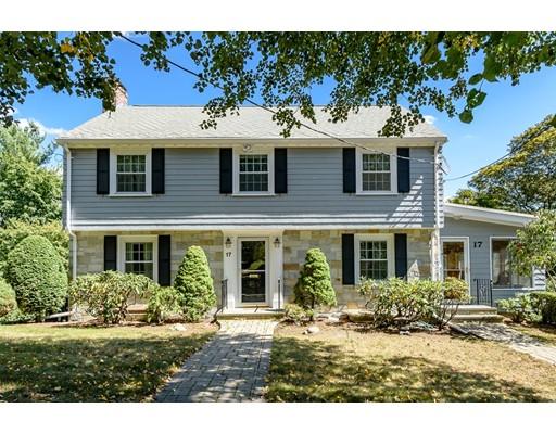 Частный односемейный дом для того Аренда на 17 Shaw Road 17 Shaw Road Brookline, Массачусетс 02467 Соединенные Штаты