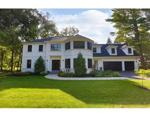 Single Family Home for Sale at 391 Dudley Road 391 Dudley Road Newton, Massachusetts 02459 United States