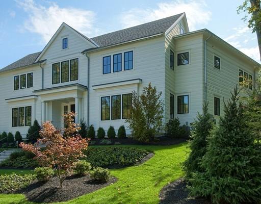Casa Unifamiliar por un Venta en 2 Trinity Court 2 Trinity Court Wellesley, Massachusetts 02481 Estados Unidos