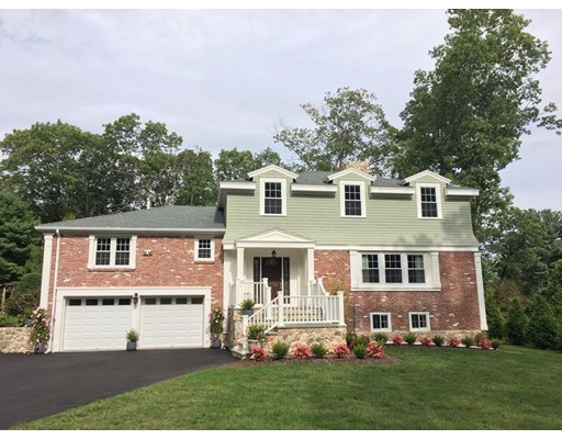 Single Family Home for Sale at 25 Chiltern Road Weston, Massachusetts 02493 United States