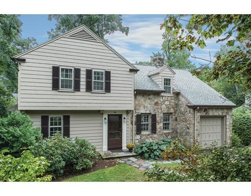 独户住宅 为 销售 在 69 Devonshire Road 牛顿, 马萨诸塞州 02468 美国