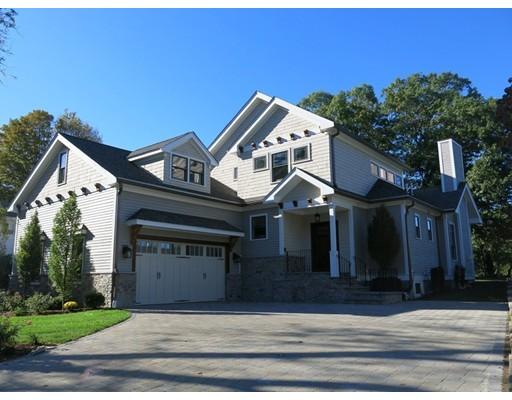 Single Family Home for Sale at 767 Newton Street 767 Newton Street Brookline, Massachusetts 02467 United States